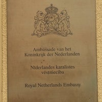 Photo taken at Royal Netherlands Embassy by John S. on 7/22/2016