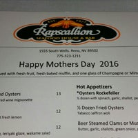 Photo taken at Rapscallion Seafood House and Bar by Jim G. on 5/8/2016