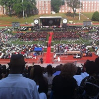 Photo taken at Clark Atlanta University by Anika F. on 5/20/2013