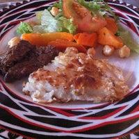 Photo taken at Bier Garten Chef by Graziela A. on 3/15/2013