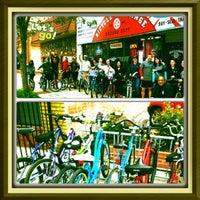 Photo taken at Bicycle X-change by Meg S. on 9/16/2012