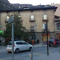 Photo taken at Farmacia Mitjavila Andorra by Pep A. on 2/15/2013