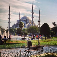 Photo taken at Sultanahmet Square by Gianpaolo F. on 9/14/2013