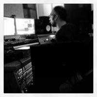 Photo taken at bass hit studios by Chris C. on 11/16/2013
