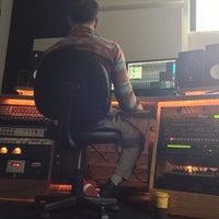 Photo taken at bass hit studios by Chris C. on 10/28/2012