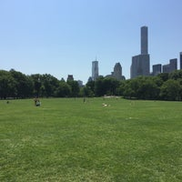Photo taken at Sheep Meadow by Logan M. on 5/26/2015