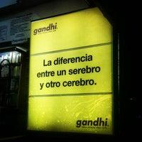 Photo taken at Gandhi by Esteban B. on 2/1/2013
