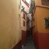 Photo taken at Callejón del Beso by Enita M. on 11/2/2012