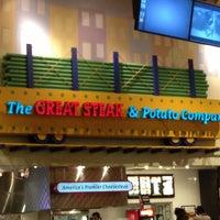 Photo taken at Great Steak & Potato by Sabrina M. on 2/17/2013