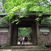 Photo taken at 釈迦山 百済寺 by フク♪ on 5/25/2014