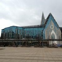 Photo taken at Augustusplatz by Andreas M. on 1/1/2013