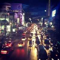 Photo taken at Phetchaburi Road by Ankur K. on 7/21/2013