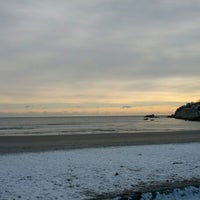 Photo taken at Sachuest Beach - Surfer's End by Adam S. on 1/2/2013
