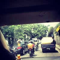 Photo taken at Jalan Profesor Doktor Satrio by Gema K. on 11/27/2012