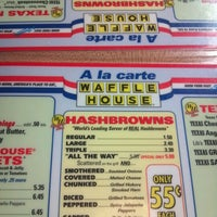 Photo taken at Waffle House by Ryan L. on 10/17/2012