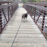 Photo taken at Deschutes River Trail Footbridge by Cassie M. on 2/18/2014