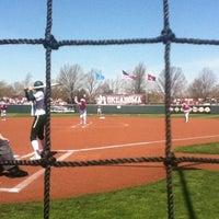 Photo taken at Marita Hynes Field at the OU Softball Complex by Sean B. on 4/6/2013