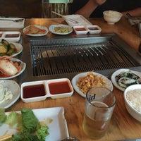 Photo taken at Wharo Korean BBQ by Jongsu P. on 7/25/2015