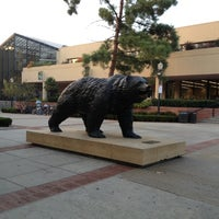 Photo taken at UCLA Bruin Statue by Roxanne R. on 12/9/2012
