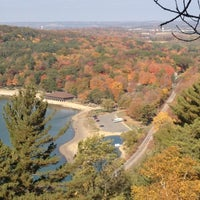 Photo taken at Devil's Lake State Park by Maggie F. on 10/2/2012