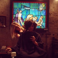 Photo taken at Mudhoney Salon by Jennifer D. on 6/8/2013