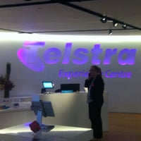 Photo taken at Telstra Experience Centre by Paul W. on 9/11/2014