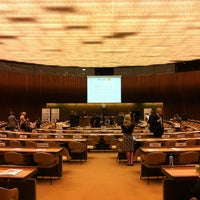 Photo taken at Palais des Nations by Bulut Ö. on 7/1/2013