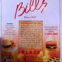 Photo taken at Bill's Place by Stu J. on 9/19/2012