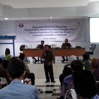 Photo taken at Fakultas Pendidikan Ekonomi dan Bisnis (FPEB) by Rida R. on 5/14/2014