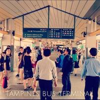 Photo taken at Tampines Bus Interchange by KING M. on 7/1/2013