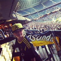 Photo taken at Friends Arena by Franke on 6/24/2013