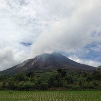 Photo taken at Gunung Sinabung by Yeany D. on 10/2/2013