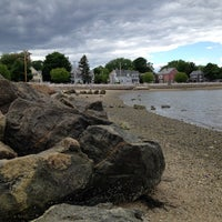 Photo taken at Collins Cove Beach by Kristina F. on 6/7/2014