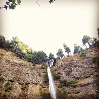 Photo taken at Multnomah Falls by Evan C. on 9/29/2012