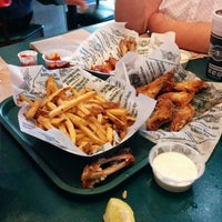 Photo taken at Wingstop by Efren G. on 12/31/2013