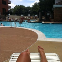 Photo taken at River Place Pool by Samantha R. on 7/14/2013