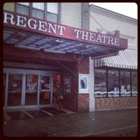 Photo taken at Regent Theater by Chuck S. on 2/24/2013