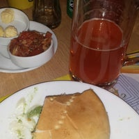 Photo taken at Bavaria, Cafeteria y Restaurant by Paulita A. on 8/28/2014