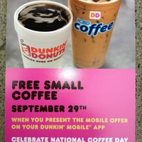 Photo taken at Dunkin' Donuts by Dunkin' Donuts B. on 9/20/2013
