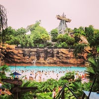 Photo taken at Disney's Typhoon Lagoon Water Park by Erin A. on 7/2/2013