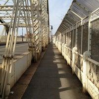 Photo taken at Macombs Dam Bridge by Anne B. on 1/31/2013