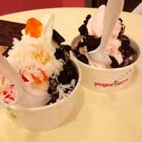 Photo taken at Yogurberry by Christine R. on 10/16/2012