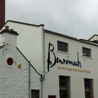 Photo taken at Benromach Distillery and Malt Whisky Centre by Marc H. on 9/14/2012