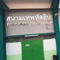 Photo taken at Thephasadin Stadium by Pawoot (Pom) P. on 10/2/2016