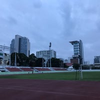 Photo taken at Thephasadin Stadium by Pawoot (Pom) P. on 10/29/2016