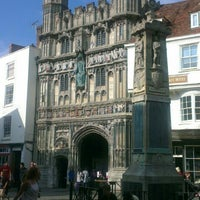 Photo taken at The Old Buttermarket by Alice on 9/3/2013