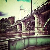 Photo taken at Bords de Seine by Soum J. on 5/12/2013