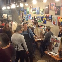 Photo taken at Sipping N' Painting by Sipping N' Painting on 6/15/2015