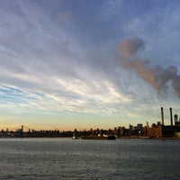 Photo taken at East River Ferry - India St/Greenpoint Terminal by Shu K. on 1/3/2013