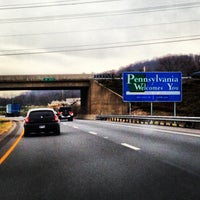 Photo taken at Maryland/Pennsylvania State Line by Nick T. on 11/20/2012